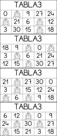 Bingo Multiplicar