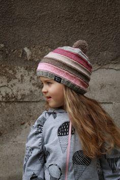 NuuTikki: Villapipoja Kids Beanies, Fun Projects, Knit Crochet, Winter Hats, Wool, Knitting, Fashion, Moda, Tricot