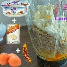 Havermout huttenkase pannenkoekjes in de blender