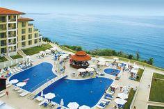 Byala Beach Resort beschikt over indrukwekkende luxe en comfort en een prachtige uitzicht