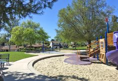 Linda Vista Park in Mission Viejo. Good size and easily accessible. lots of play space! Near the school.