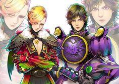 Kamen Rider OOO Ankh and Eiji