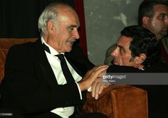 Actors Sean Connery (L) and Ian McShane attend the after party for the 34th AFI Life Achievement Award tribute to Sir Sean Connery held at the Kodak Theatre on June 8, 2006 in Hollywood, California.