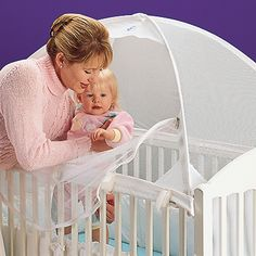 Child Safety Cozy Crib Tent II Prevents Climbing (Can already tell, I'm going to need this!)