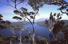 Lake of Gunung Tujuh in Kerinci