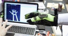 Hands Omni Gloves - Haptic Gloves That Use Air Pressure To Simulate The Feel Of Virtual Objects