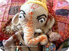 amigurumi ganesha elefante hindu