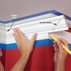 Tips on how to do crown molding!! Let's do this!!!