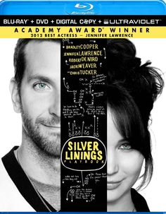 Silver Linings Playbook is such a great story of redemption. Academy-award-winning actress Jennifer Lawrence is enough to steal the show! #film #movies