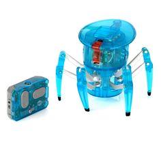 Paianjenul Hexbug este o minunatie electromecanica pe care o poti privi si manevra.