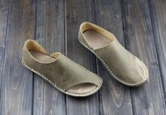 Handmade Shoes for WomenOxford Women Shoes Flat Shoes by HerHis, $69.00
