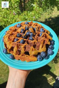 Want something delicious to wake up to? How about some Snickerdoodle protein waffles! 😍 Check out this easy recipe with @vegmegs for the perfect way to start your morning off with a boost of protein. ⁠ ⁠     - #breakfast #waffles #rasberries #blueberries #livbody #foodstagram #foodlover #protein #healthylifestyle #breakfast #healthyfood ⁠   Add some peanut butter or maple syrup, and top it off with the fruit of your choice! 🍓⁠ High Protein Recipes, Protein Foods, Protein Waffles, Healthy Snacks, Healthy Recipes, Breakfast Waffles, Protein Breakfast, Unsweetened Almond Milk, Maple Syrup