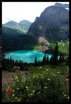 Grinnel Lake, Glacier