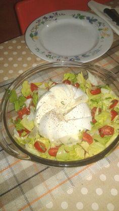mozzarella di bufala cin verdure