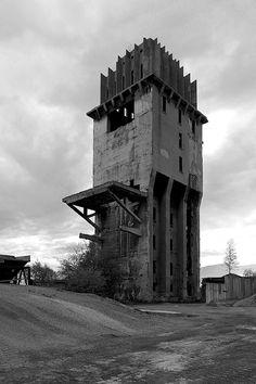 abandoned tower , szczecin/poland 2013
