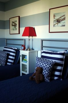 Boys room and stripes!