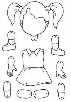 body parts for children crafts Preschool Lessons, Preschool Worksheets, Preschool Crafts, Learning Activities, Preschool Activities, Kids Learning, Learning Spanish, Body Parts Preschool, Art For Kids
