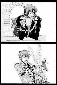 Julius, Ace, and Alice - Heart no Kuni no Alice