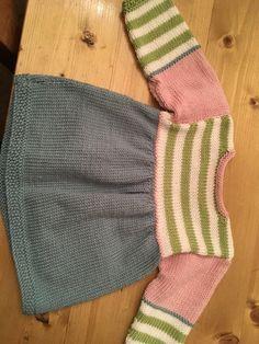 Pretty in stripes baby dress Knitting pattern by Tracy Wright Baby Sweater Knitting Pattern, Baby Knitting Patterns, Knitting Yarn, Girls Knitted Dress, Knit Baby Dress, Baby Blog, Dress Gloves, Yarn Brands, Free Baby Stuff