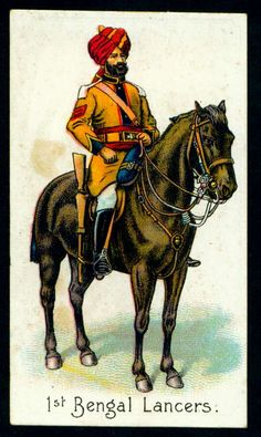 Cigarette Card - Bengal Lancers
