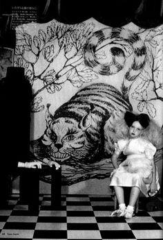 From Alice in Wonderland series by Irina Ionesco; Vogue Japan (1970