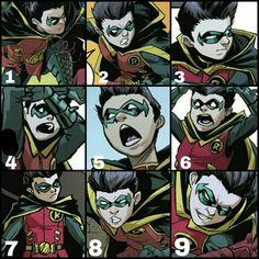 1509 Best Damian wayne images in 2019 | Batman family, Bat family