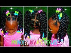 Ideas Crochet Braids Ponytail Hairstyles Girls For 2019 Kids Cornrow Hairstyles, Kids Crochet Hairstyles, Crochet Braids For Kids, Lil Girl Hairstyles, Girls Natural Hairstyles, Braided Ponytail Hairstyles, Crochet Hair Styles, Natural Hair Styles, Toddler Hairstyles