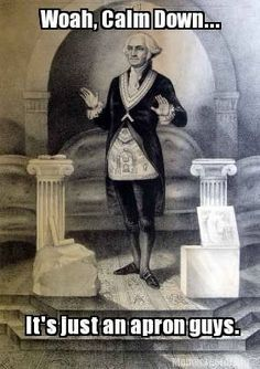 Washington laid the cornerstone of the Capitol while apparently dressed in his Masonic apron. Source: Library of Congress. Scanned from Richard Cavendish (ed.), Man, Myth, & Magic, Vol. Art History Memes, Classical Art Memes, Masonic Symbols, Ancient Symbols, George Washington, Washington Art, Freemasonry, Knights Templar, American Revolution