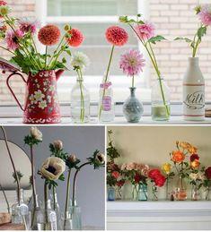 Image result for flower decor in vases