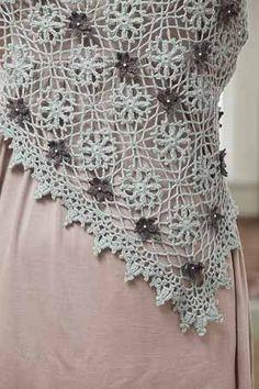Promenade Shawl - Media - Crochet Me