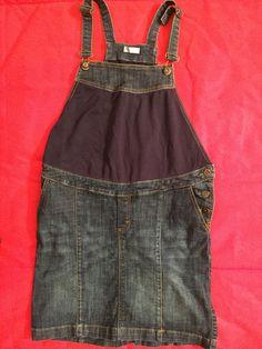 Salopette PRENATAL, taglia 40-42; 27€  http://hipmums.it/collections/premaman/products/salopette-denim-gonna-premaman-con-elastico-regolatore-in-vita