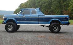 Ford Big Ford Trucks, 1979 Ford Truck, Custom Pickup Trucks, Classic Ford Trucks, Ford 4x4, 4x4 Trucks, Cool Trucks, Lifted Trucks, Ford Humor