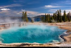 Yellowstone National Park Geysers | West Thumb Geyser Basin, Yellowstone National Park, Wyoming, USA
