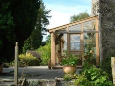 Small lean-to conservatory in Fife   Carpenter Oak