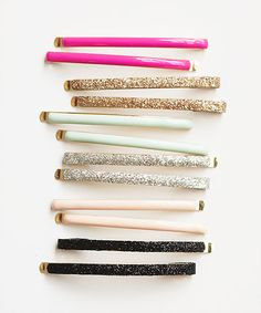 flash bobbi pin sets .color and sparkle from Bando.