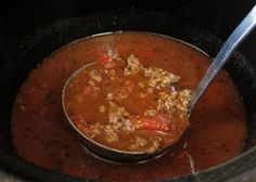 Escape from Obesity: Low Carb Crock Pot Chili