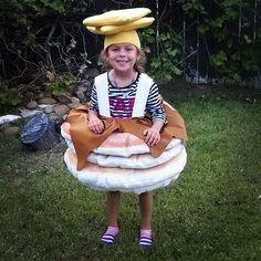 Pin for Later: 27 Food-Inspired Costume Ideas For Kids and Babies Pancakes