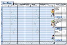 #Relación #semanal de #gastos #Weekly #Expense #Finance #Planner #Enero #2015