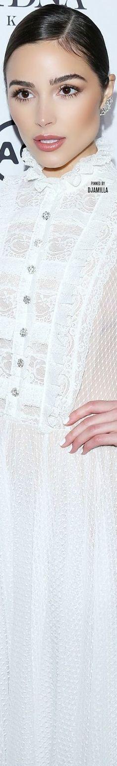Olivia Culpo Marie Claire Image Makers Pure White Mixer Red Carpet Preppy Awards Clic