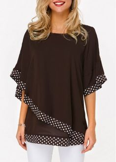 Stylish Tops For Girls, Trendy Tops, Trendy Fashion Tops, Trendy Tops For Women Stylish Tops For Girls, Trendy Tops For Women, Blouses For Women, St. Patricks Day, Latest Fashion For Women, Womens Fashion, Ladies Fashion, Trendy Fashion, Blouse Designs