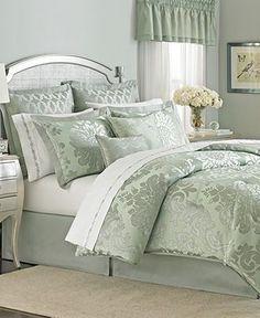 Martha Stewart Collection Regal Damask 24 Piece Comforter Sets – Bed in a Bag – Bed