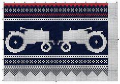 DIY knit pattern a la Moods of Norway meets Marius