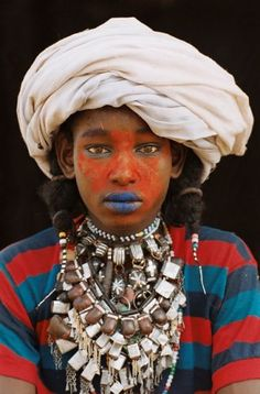 """Tchad : """"Les Woodabés"""" -  By Marie-Laure de Decker"""