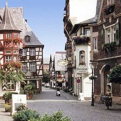 Boppard, Germany ~ Like a fairytale to explore.