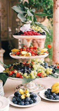 fruit tiers....