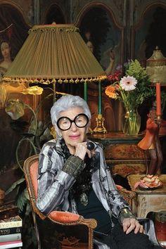 Iris Apfel - my ultimate style icon.