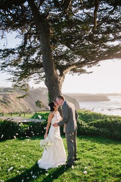 Jolie & John, Eloped! Photo By tammie gilchrist photography #Mendocino #AgateCoveInn