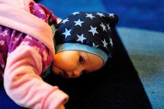 Kostenloses Schnittmuster / Freebook / Tutorial für Kindermütze / Free pattern for children's hat