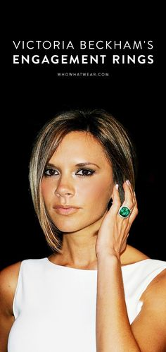 See all 13 of Victoria Beckham's engagement rings (yes, really)