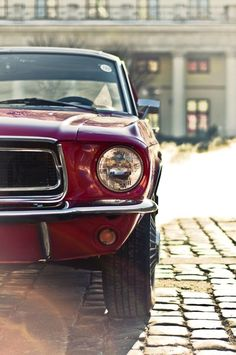 Ford Mustang.....when I met my hub 32 yrs ago he had one like this...sure wish we still had it!